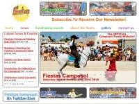 FiestasCamposol.Com Website Screenshot