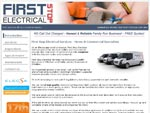 FirstStopElectricalServices.Com Website Screenshot