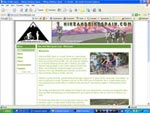 Hike & Bike Spain Website Screenshot