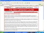 The New Camposol Courier Website Screenshot