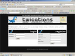 Twications.Com Website Screenshot